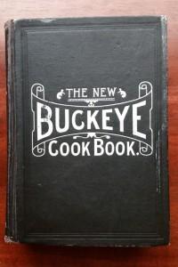 Buckeye Cook Book Cover 1904