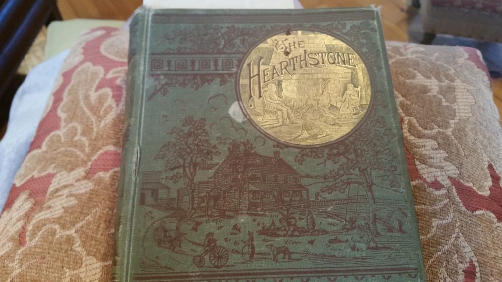 """The Hearthstone; or Life at Home. A Household Manual. "" by Laura C. Holloway, 1883."