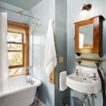 The bathroom in the Maple Room at Hillside Homestead